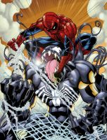 Spidey Vs Venom by voltesfibz