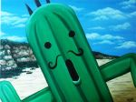 Jumbo Cactuar! by Katie-Joy