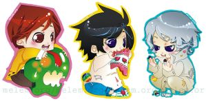 Chibi Death Note Collection by melem