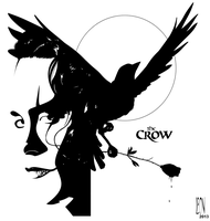 Crow tat for Kel by DarkFurianX