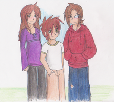 The Kyrashin kids by gr8brittyn-star
