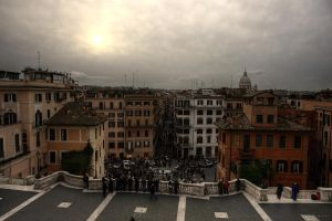 On the Spanish Steps II by LPeregrinus