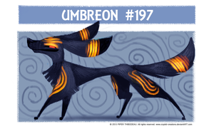 DAY 379. Umbreon by Cryptid-Creations