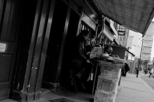 Shopkeeper At Work by Problematiche