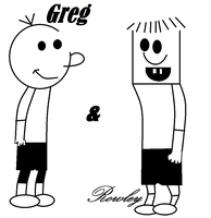 Greg and Rowley by Darkkirby8976