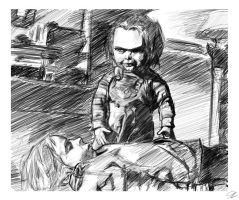 Chucky by nefosik