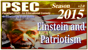 PSEC 2015 Einstein and Patriotism by paradigm-shifting