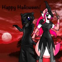 Happy Halloween! - Lucas and Cherry by HesperCambrie