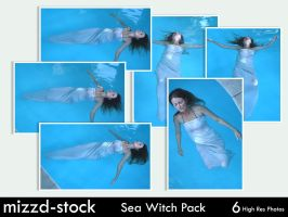 Sea Witch Pack by mizzd-stock