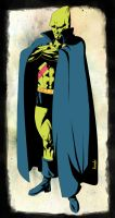 Martian ManHunter DC comic Style by Pramodace