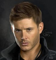 Jensen Ackles Commission by aniigraphuse