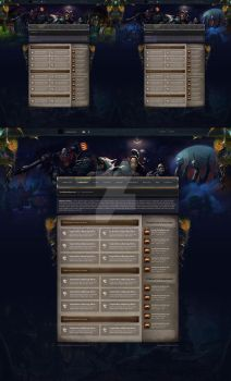 vBulletin Style - WoW Community Concept by the-danzor