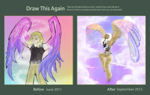 Draw This Again Entry: Angel by AdmiralPastry