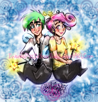 Cosmo and Wanda ~ Fairly OddParents by IwannaPissInYourBed