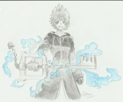 Roxas by Inuyashafan001