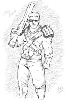 """Chris """"Warrior costume"""" by redfield37"""