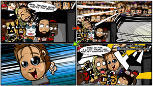 Seth Rollins and Dean Ambrose - WWE Comic Strip 11 by kapaeme
