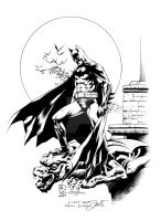 Batman commission inks by MarkStegbauer