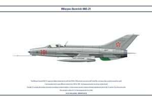 MiG-21 Hungary 1 by WS-Clave