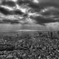 Istanbul from top by TanBekdemir