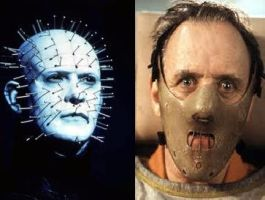 Pinhead VS Hannibal Lecter by scarymovie13