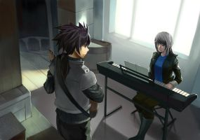 :com: Playing Music by D-dy