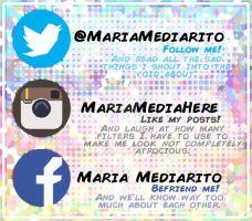 Social Media Plugs! by MariaMediaHere