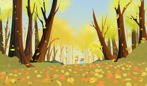 Running of the leaves by tgolyi