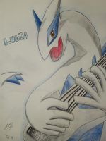 Lugia by DracoPhobos