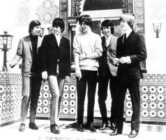 the rolling stones 1964 by Ashley-kk