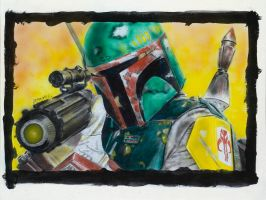 boba fett by JohnArmbruster