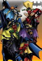 Batfamily by taresh