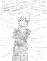 Gaara with in the desert by skykun