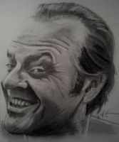 Jack Nicholson by cliford417