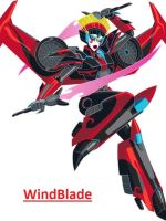 Windblade arrives in the series TFRID2015 by Lumina-luna