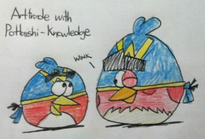 Angry Birds - Wingman and Wingboy by AngryBirdsStuff