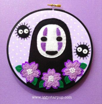 No Face and Soot Sprites by iggystarpup