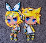 Kagamine Twins by Aenea-Jones
