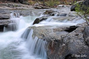 Silver Fork Falls by StephGabler