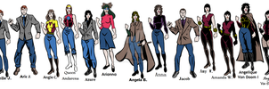 Arielle's Personas and More by NanasFreak