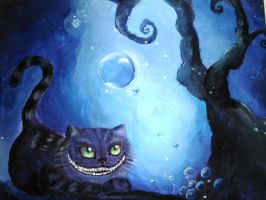 342 - Grinsekatze / Cheshire Cat by Cocuri