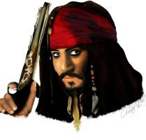 Jack Sparrow drawing 07 by andys184