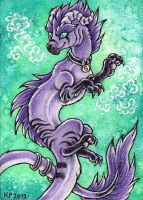 ACEO Trade: Kyuubreon by Agaave