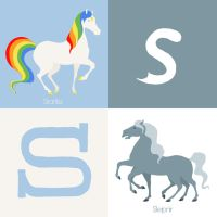 S for Horse by Citron--Vert