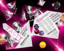 Tasty Party Flyer Template by Party-Flyer