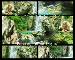 The source of the Nymphs ~ Mosaic by RazielMB