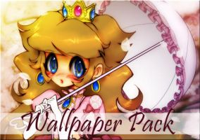 Peachy Wallpaper by sererena