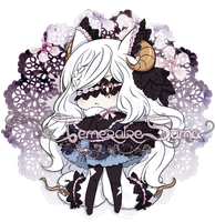 SweetNightmare:Tailmouthed Nekomata[CLOSED] by Naitei
