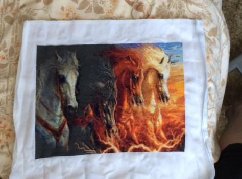 Four Horses of the Apocolypse by killthedrummer