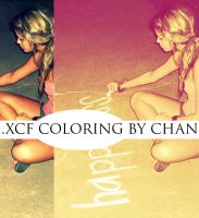 .xcf Gimp Coloring by ChanGraphics by ChanGraphics
